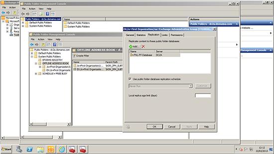 Exchange 2010 Public Folder OAB