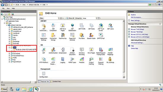 Exchange 2010 Public Folder Web Site