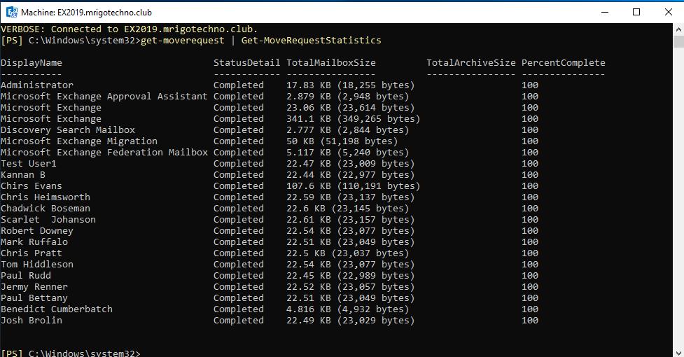 Migrating Exchange Server 2013