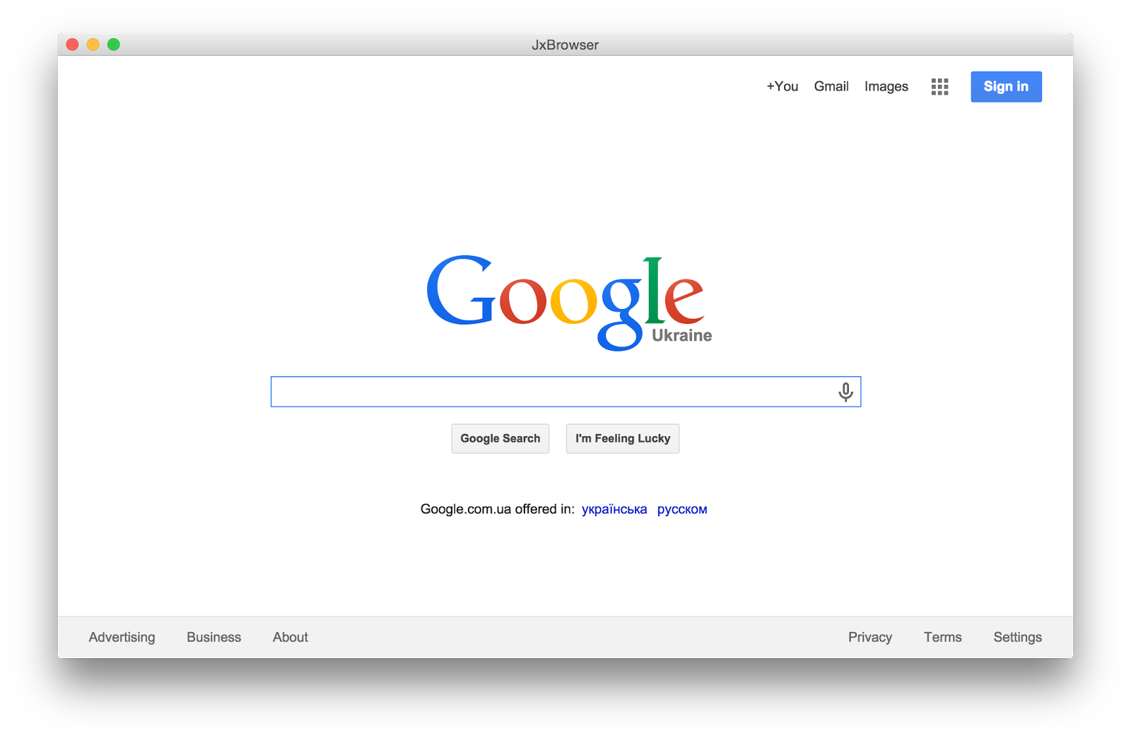 Cross-Desktop Apps : JxBrowser