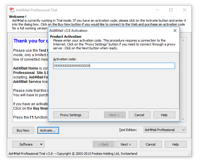 aid4mail activation key