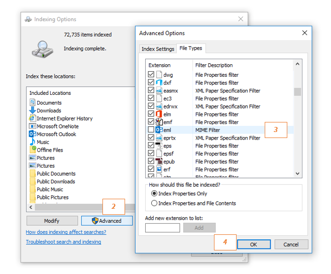Why exported EML and MSG files have wrong date stamp :