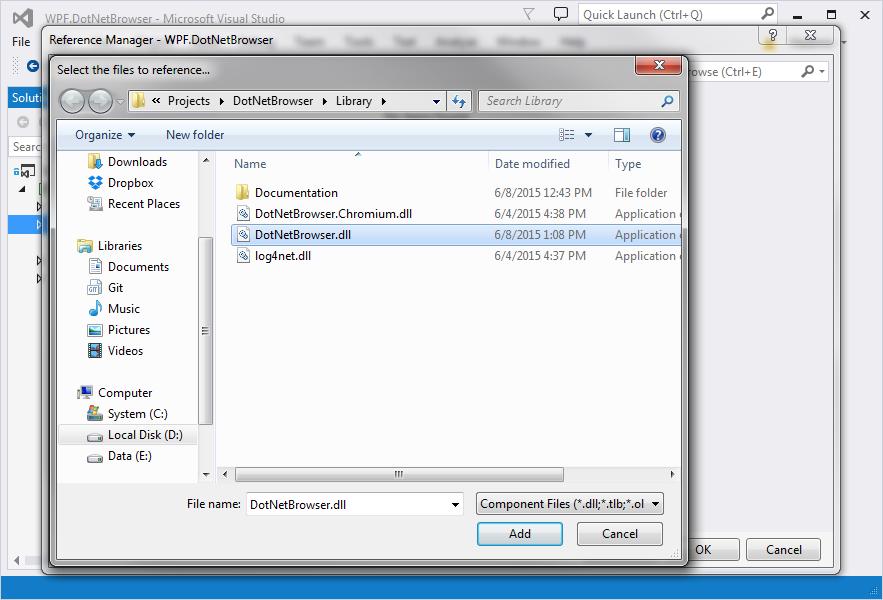 Quick Start Guide for WPF Developers : DotNetBrowser