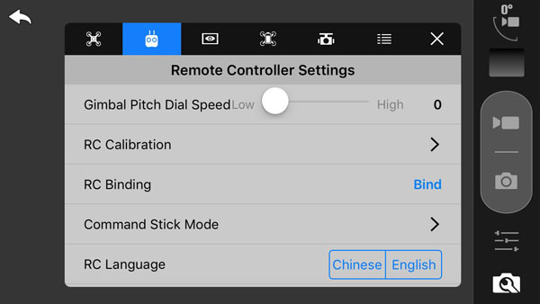 Starlink App Remote Control Settings