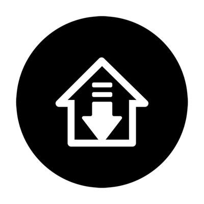 Remote Controller Home Button Icon