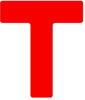 Autel Robotics Logo Letter T