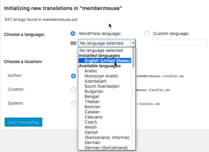 Translate MemberMouse - Basic : MemberMouse Support