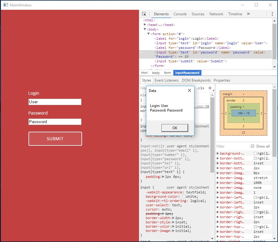 Нow to Create HTML UI for WPF Application Using