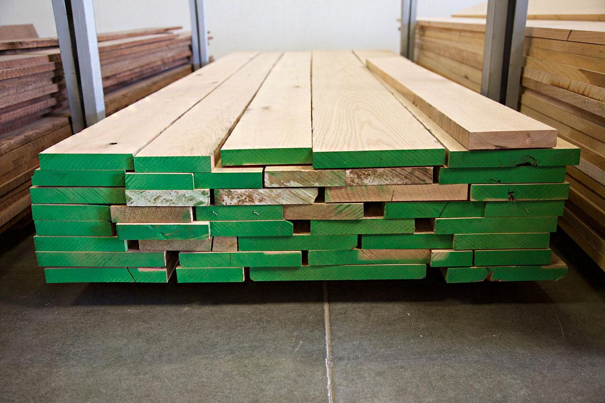 random width lumber