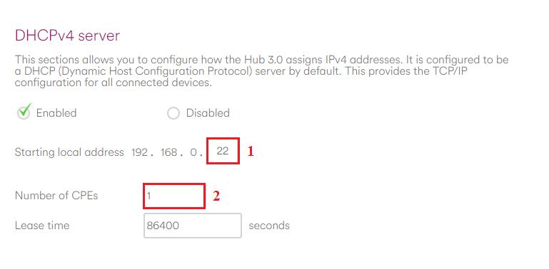 Virgin Media Ip Address >> Dhcp Mode Virgin Media Hub 3 0 Cujo Llc