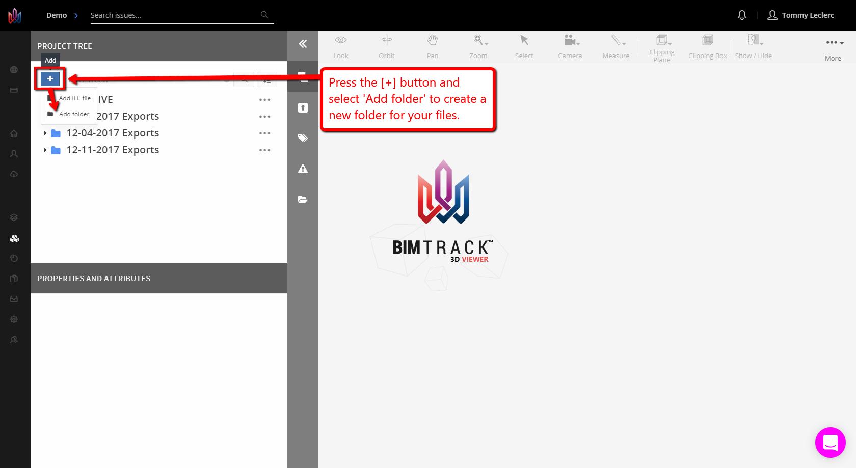 IFC Folders : BIM Track
