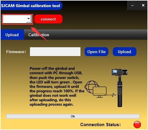 SJ Gimbal Calibration, Camera Control, Charging, and