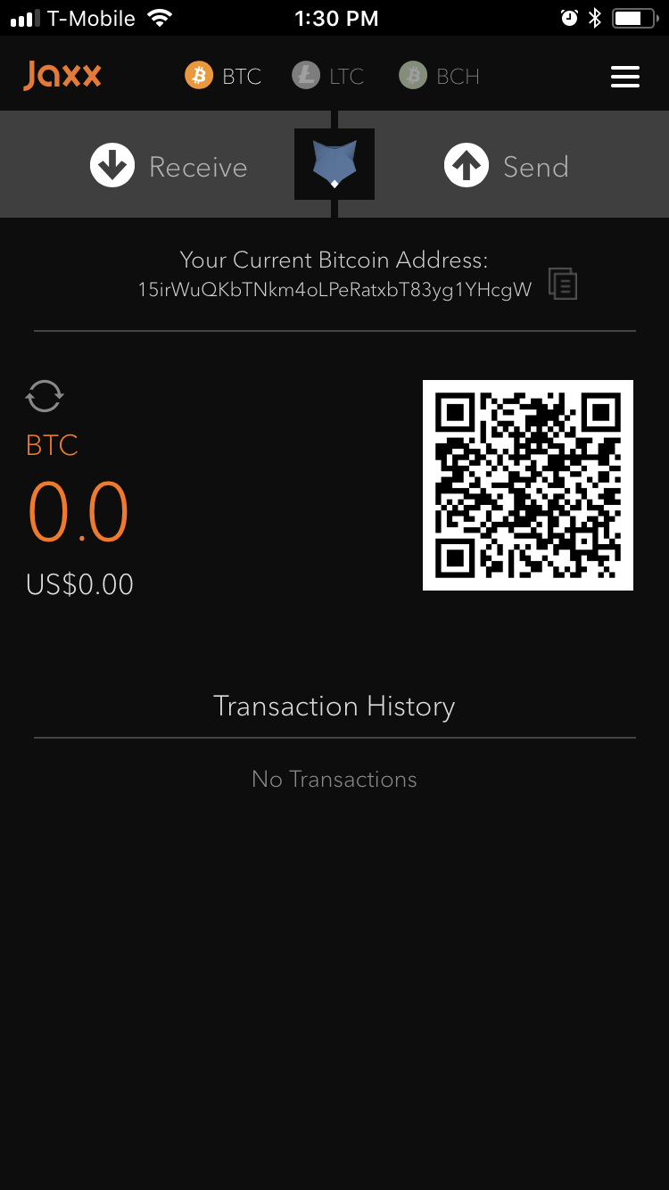 jaxx bitcoin wallet download