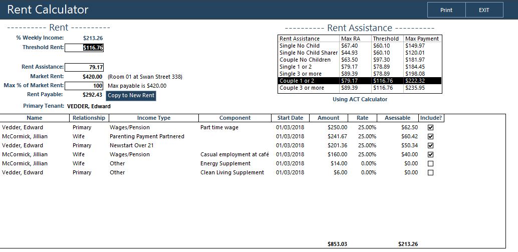 the chintaro rent calculator chintaro support au 03 9111 2656
