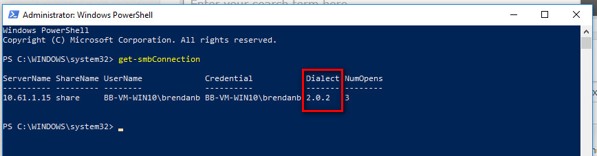 Windows 10 1803 Update and Running QuoteWerks SQL off a Linux Share