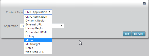 Adding a New Menu Tab to the Console : CMiC