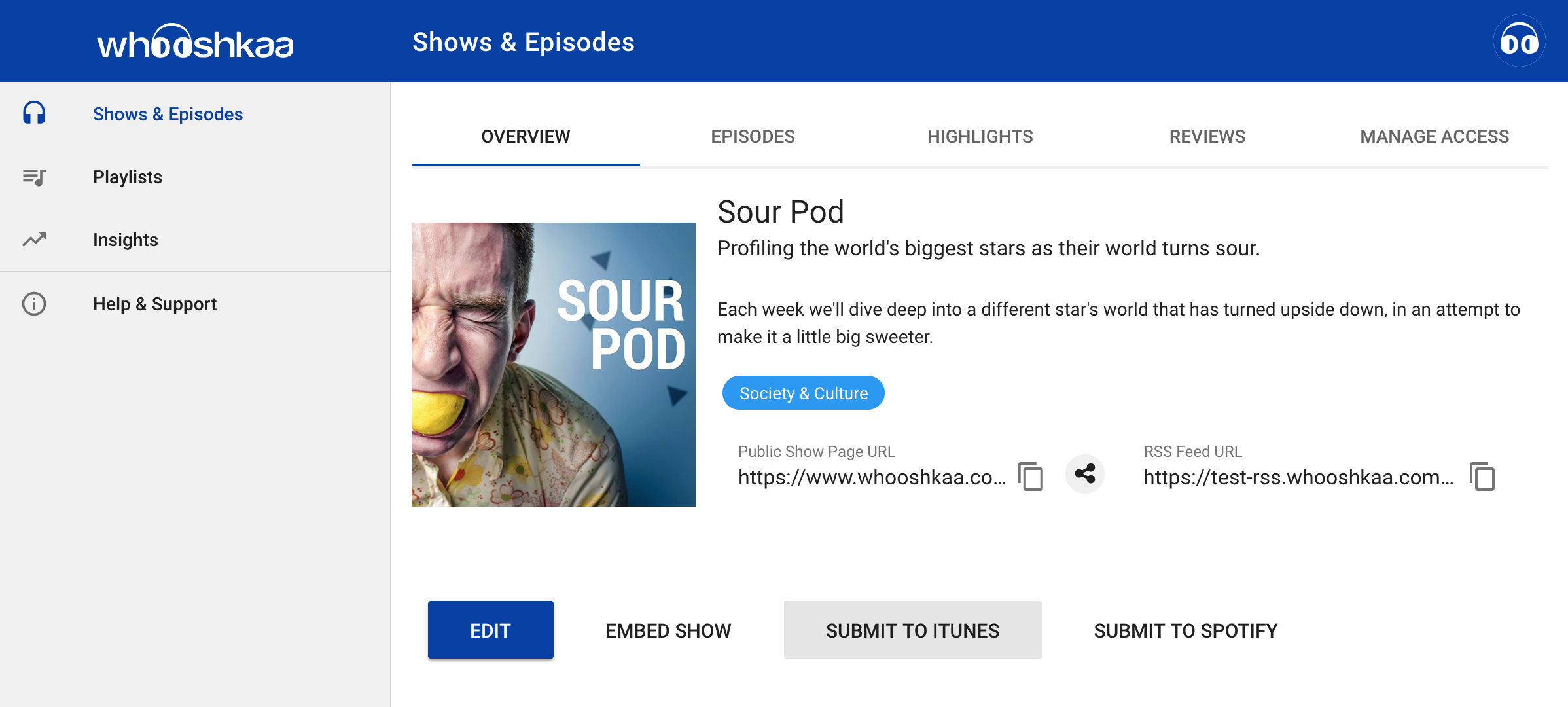 How to submit your show to Apple Podcasts (iTunes) : Help & Support