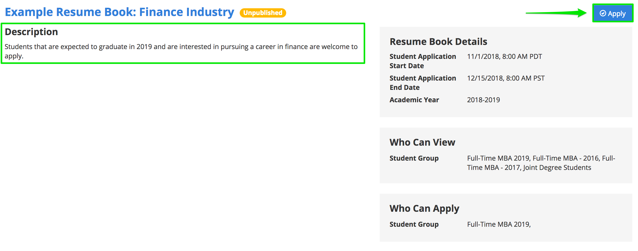 How Does A Student Apply To A Resume Book Support