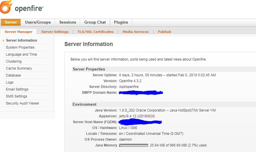 How-to: Setup XMPP Server : SkySilk Cloud Support