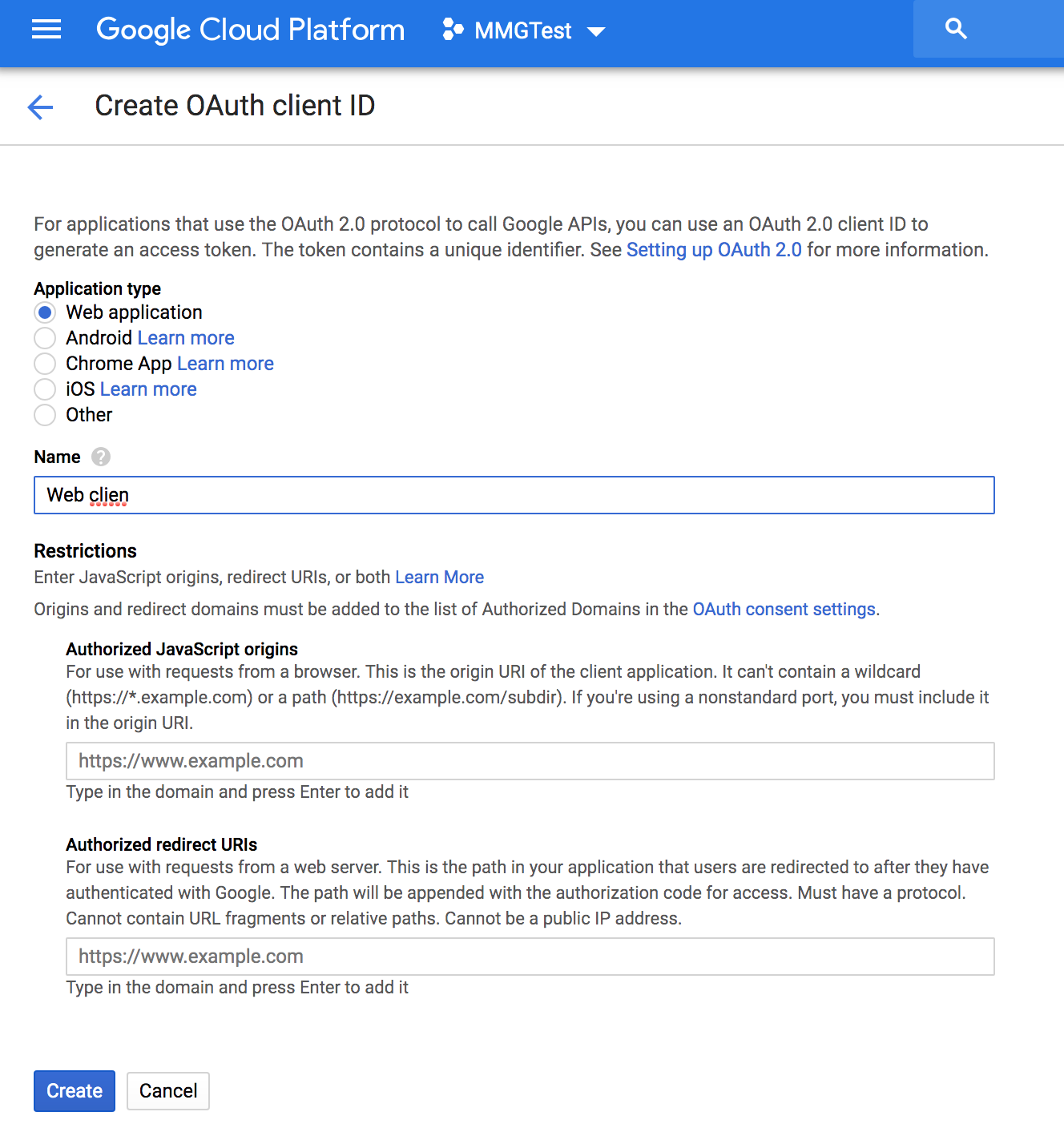 Configuring Sign In with Google : MemberMouse Support