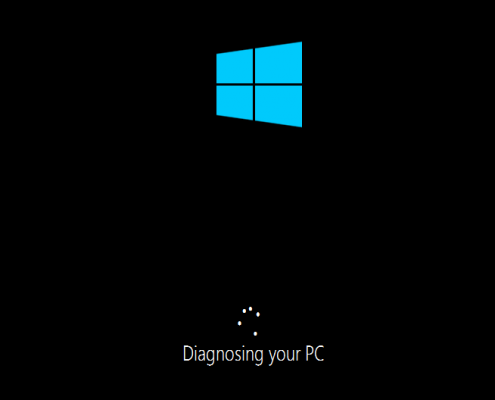 diagnosing Windows 10 PC