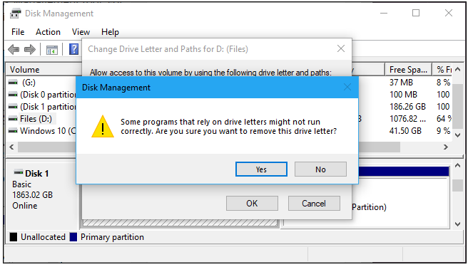 How to Hide a Recovery Partition (or Other Drive) in Windows