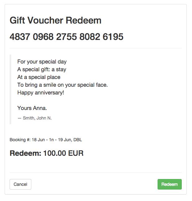 Gift Voucher in WRS