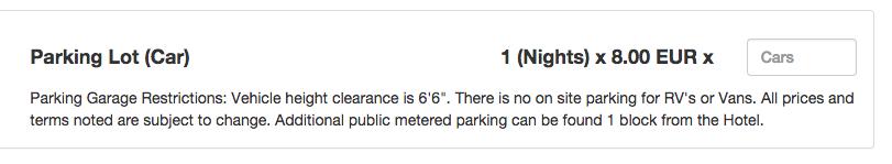 Clock PMS WRS Parking service