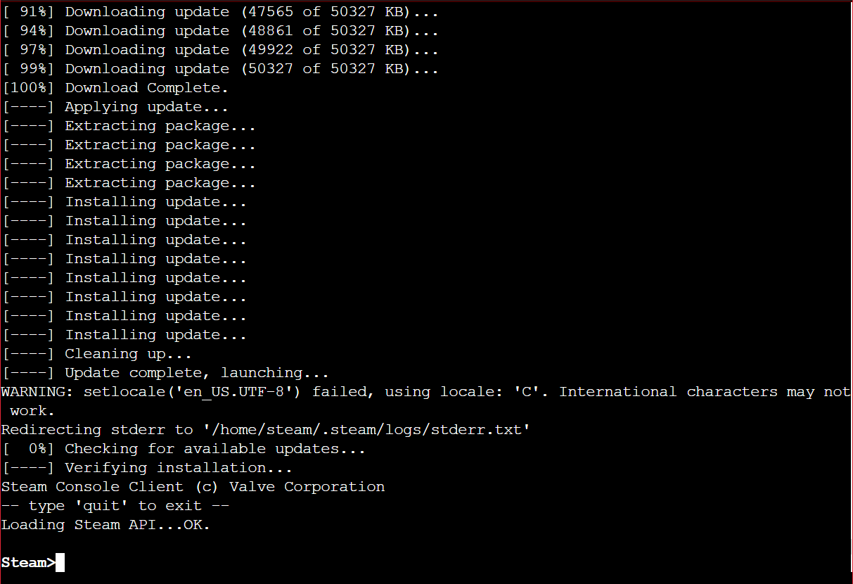 How To: Install and Use SteamCMD on Ubuntu Linux at SkySilk : SkySilk Cloud  Support