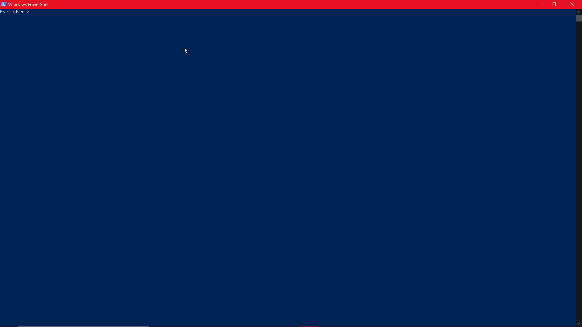 9 free Windows terminal apps to use with Linux Command Line Interface: Windows powershell