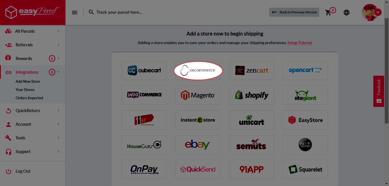 OsCommerce Integration (3)