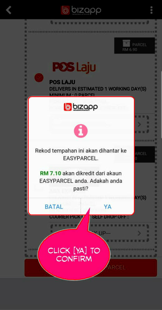 Biapp integration step 13