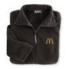 Black Ladies' Deluxe Fleece Jacket