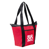 Red Polka Dot Accent Tote