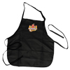 Black McTeacher's Night Apron