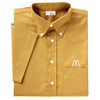 Men's Maize Short Sleeve Soft Touch Poplin