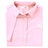 Ladies' Light Pink Short Sleeve Soft Touch Poplin