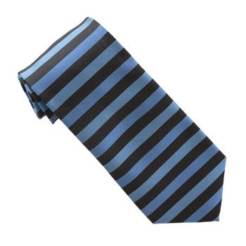 ties s blue horizontal stripe tie fresh fashions