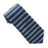 Men's Blue Horizontal Stripe Tie