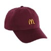 Maroon Golden Arches Cap