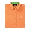 Men's Tangerine/Lime Re-Imaged Poplin