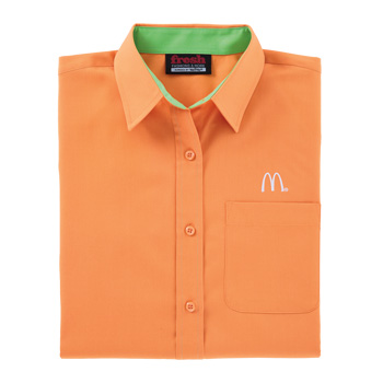 Ladies' Tangerine/Lime Poplin