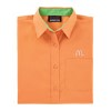 Ladies' Tangerine/Lime Re-Imaged Poplin