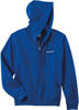 Royal Blue Quarter-Zip Pullover Hoodie