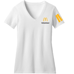 Official McDonald's Volunteer Event T-Shirts