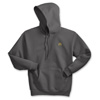 Smoke Grey Hooded Sweatshirt