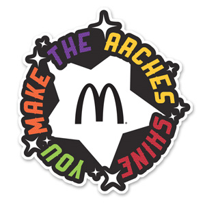 You Make The Arches Shine Lapel Pin