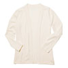 Cream Ladies' Open Front Cardigan Sweater