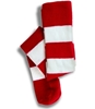 Red & White Striped Socks/Pair