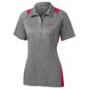Ladies' Heather Colorblock Sport Shirt